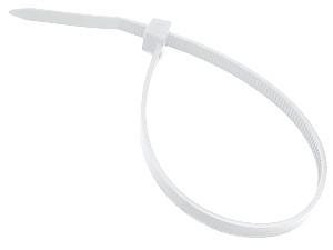3M 7000035303 (KE234000229) Хомуты кабельные Scotchflex FS 380 C-C, 4, 5х380, бесцветные, материал - нейлон 6.6, использование внутри помещений, макс. диаметр 110мм, (100 шт)