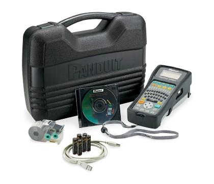 Комплект портативного термотрансферного принтера LS8EQ QWERTY с сетевым адаптером для Европы PANDUIT LS8EQ-KIT-ACE