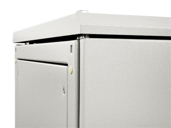ZPAS WZ-1951-09-09-011 Боковые металлические стенки для шкафов SZE2 1600x500, цвет серый (RAL 7035) (комплект из 2 штук) (1951-9-0-9)