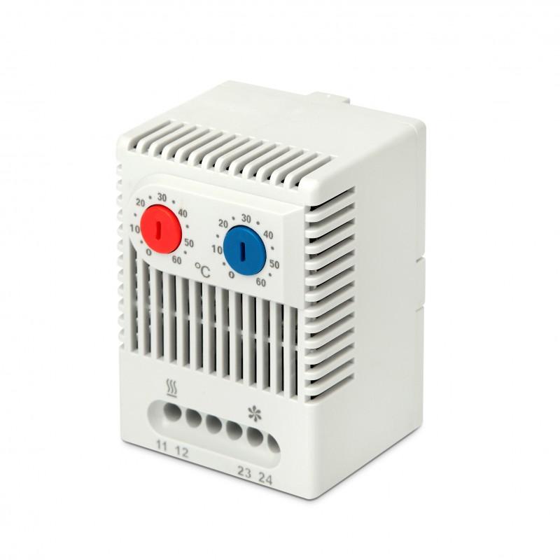 Термостат универсальный 0-60°C для обогрева и охлаждения Hyperline KL-TRS-UVL-060