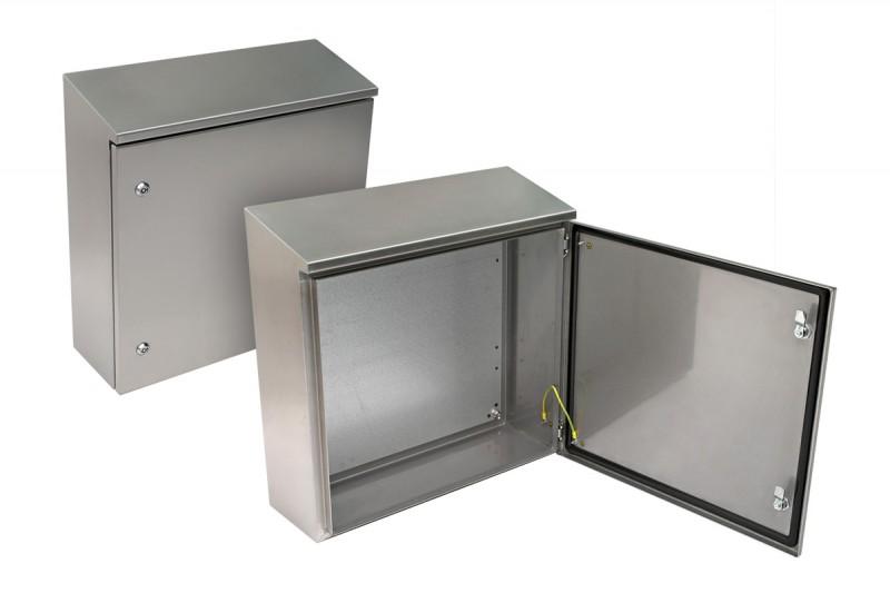 ZPAS WZ-SWN-806030-N1-000 (WZ-6742-01-18-000) Шкаф электрический, серия SWN Inox, 800х600х300мм (ВхШхГ), с монтажной панелью, IP65, неокрашенный, из нержавеющей стали