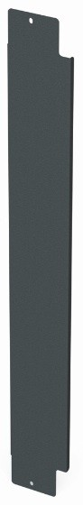 Siemon V8A-BLNK-1-48 Вертикальная панель-заглушка половинной высоты для шкафа V800, 48U, черная<img style='position: relative;' src='/image/only_to_order_edit.gif' alt='На заказ' title='На заказ' />