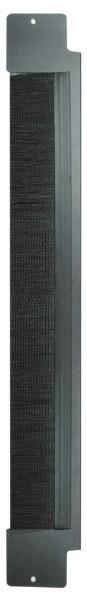 Вертикальная панель с щеточным вводом половинной высоты для шкафа V800 Siemon V8A-BRSH-1-42
