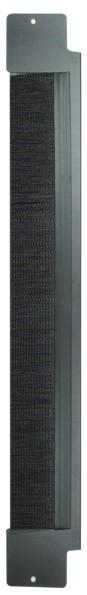 Вертикальная панель с щеточным вводом половинной высоты для шкафа V800 Siemon V8A-BRSH-1-45