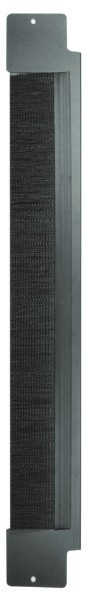 Вертикальная панель с щеточным вводом половинной высоты для шкафа V800 Siemon V8A-BRSH-1-48