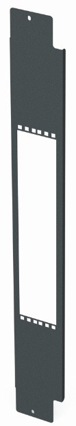 Siemon V8A-VPP2U-1-48 Вертикальная патч-панель половинной высоты для шкафа V800, 48U, черная<img style='position: relative;' src='/image/only_to_order_edit.gif' alt='На заказ' title='На заказ' />