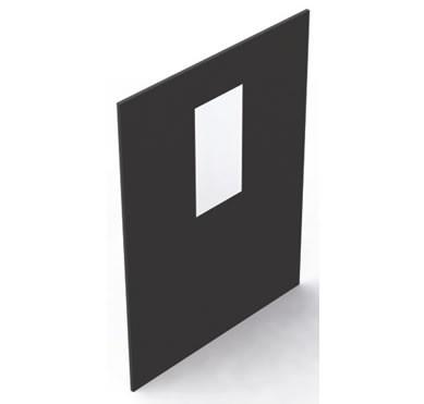 Панель с оконным проемом для закрытия конца ряда коридора Siemon VC-EP-C12B<img style='position: relative;' src='/image/only_to_order_edit.gif' alt='На заказ' title='На заказ' />