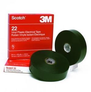 3M 7000031344 (80012017044) Scotch 22 Изоляционная лента высшего класса 19мм х 33м х 0, 25мм