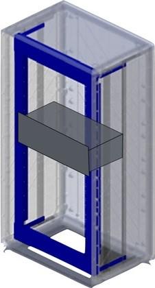 "DKC / ДКС 095777686 ""Рама 19"""", 24U для шкафов Conchiglia<img style='position: relative;' src='/image/only_to_order_edit.gif' alt='На заказ' title='На заказ' />"