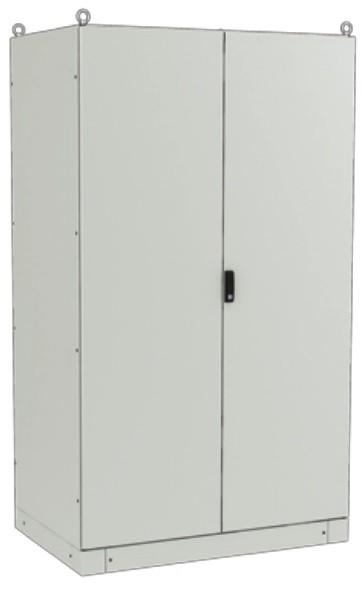 ZPAS WZ-6282-01-19-011-FP Электрический шкаф SZE3 2000х1200х500мм (ВхШхГ), с передней дверью, задней панелью, с монтажной панелью, без боковых стенок, серый (RAL 7035) (разобранный)