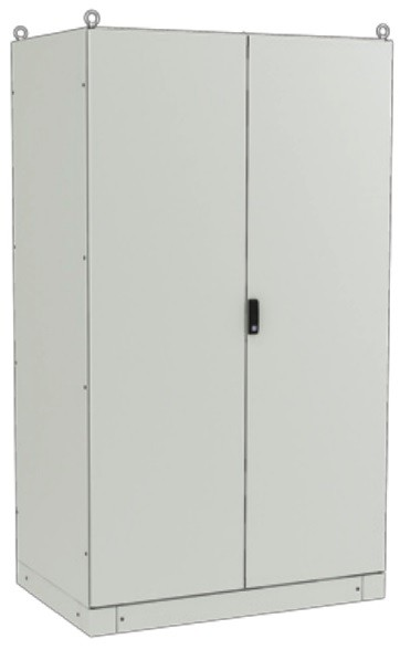 ZPAS WZ-6282-01-17-011-FP Электрический шкаф SZE3 2000х1200х800мм (ВхШхГ), с передней дверью, задней панелью, с монтажной панелью, без боковых стенок, серый (RAL 7035) (разобранный)