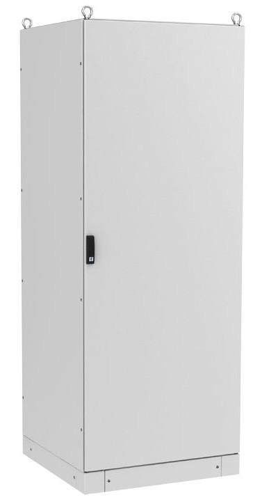 ZPAS WZ-6282-01-28-011-FP Электрический шкаф SZE3 2000х800х400 (ВхШхГ), с передней дверью, задней панелью, с монтажной панелью, без боковых стенок, серый (RAL 7035) (разобранный)