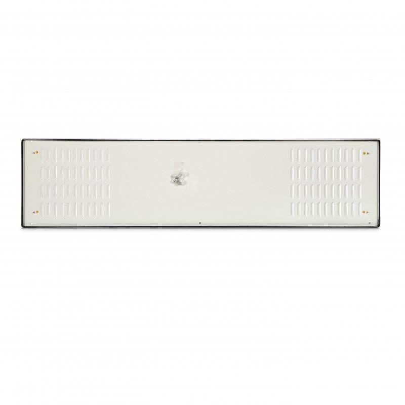 ZPAS (Спецзаказ) WZ-2387-35-62-011 Боковая перфорированная металлическая стенка для шкафов SZE2 1800x500, цвет серый (RAL 7035) (2387-356-2)