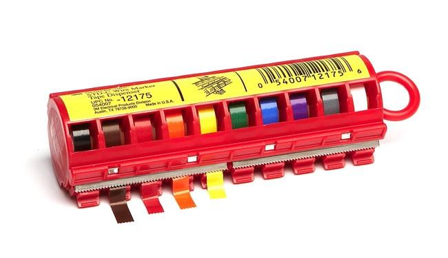 3M 7000031515 (80610733752) Scotchcode STD-С маркер с цветовой маркировкой 10 цветов