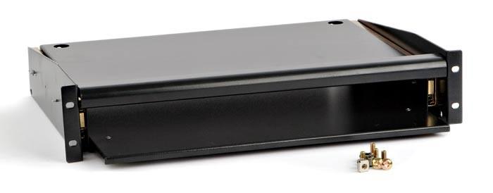 Выдвижная полка для клавиатуры с панелью для мыши Hyperline TMKP-220-RAL9004<img style='position: relative;' src='/image/only_to_order_edit.gif' alt='На заказ' title='На заказ' />