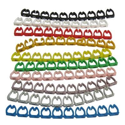 IDEAL 42-399 Набор маркерных пластиковых лент от 0 до 9, для диспенсера 42-301