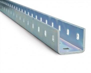 AXELENT X-TRAY 2150-1000 X-профиль X50 длиной 1000 мм, оцинкованно-хромированный