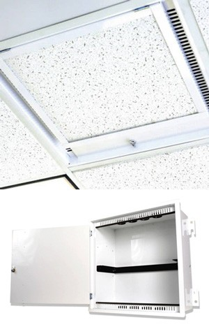 Siemon ZU-C4P-T02 Бокс для фальш-потолка Passive Ceiling Zone Enclosure, 4U, белый, защелка, 8 пластиковых втулок в комплекте<img style='position: relative;' src='/image/only_to_order_edit.gif' alt='На заказ' title='На заказ' />
