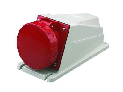 DKC / ДКС DIS5156357 Розетка наружной установки, винтовой зажим, 63A, 3P+E+N, IP67, 6ч, для сечения кабеля 6, 0-16, 0мм2, 400В, цвет красный