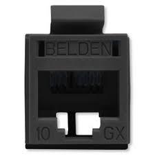 Belden RVAMJKUBK-S1 Модуль REVConnect 10GX, неэкранированный (UTP), категория 6A, T568A/ B, цвет черный