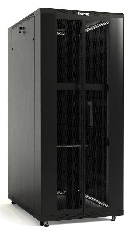 Шкаф напольный 19-дюймовый Hyperline TTB-4761-DD-RAL9004