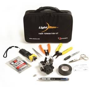 Siemon FT-LB-UKIT Комплект для апгрейда системы XLR8 до системы LightBow™ (включает инструмент для заделки Ligthbow коннекторов, визуальный локатор повреждений (VFL), 1.25 мм адаптер для VFL, шаблон, кейс для переноски)