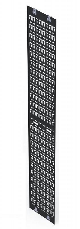 "Siemon V-TRAY-300-1-42 Вертикальный кабельный канал, 300 мм (11.8"") , для шкафов V600/ V800 42U, черный (2 шт. в комплекте)<img style='position: relative;' src='/image/only_to_order_edit.gif' alt='На заказ' title='На заказ' />"
