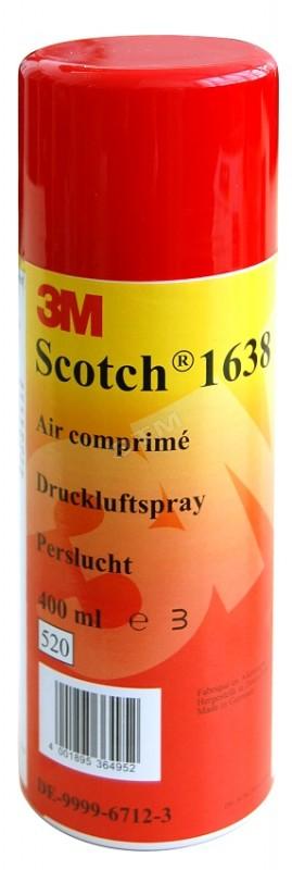 3M 7100152607 (7000032620) Scotch 1638N баллон со сжатым воздухом для удаления пыли с электрооборудования, 400мл