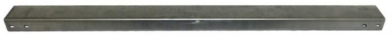 Горизонтальный опорный уголок длиной 450 мм Hyperline TGB3-450-ZN