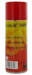 3M 7000032615 (DE999953362) Scotch 1609 аэрозоль для смазки трущихся частей механизма, на основе силикона (400мл)