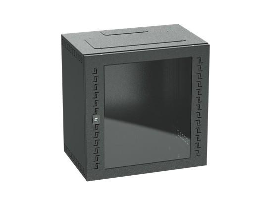 DKC / ДКС R5STI1640GSB Шкаф телекоммуникационный навесной, 16 U (800х600х400) дверь стекло, цвет черный RAL9005<img style='position: relative;' src='/image/only_to_order_edit.gif' alt='На заказ' title='На заказ' />