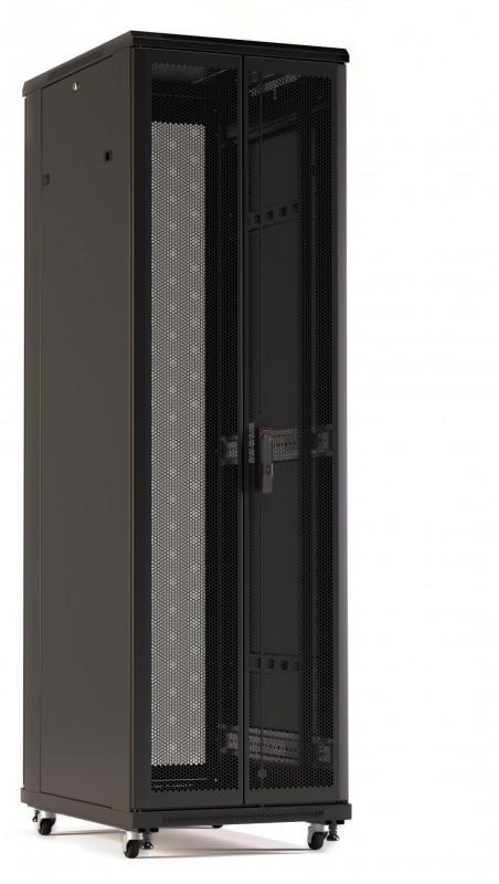 Шкаф напольный 19-дюймовый Hyperline TTR-4261-DD-RAL9005