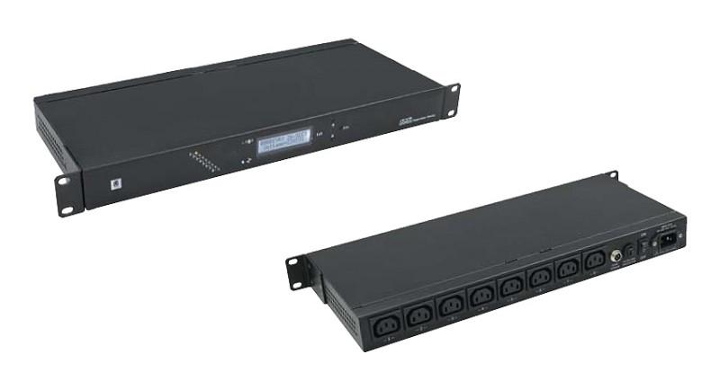 PDU Микропроцессорный блок управления мощностью и температурой MPSM-S1 ZPAS WZ-4994-01-00-161 (в комплекте датчик температуры и влажности, шнур 1.8 м)