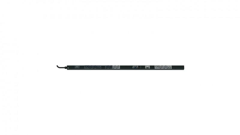 PANDUIT P24G06M Блок розеток вертикальный SmartZone™ G5 Rack PDU, серия MSPO, контролируемый, однофазный, 32A, 230V, 20 х IEC 60320 C13 + 4 x IEC 60320 C19, кабель питания 3 м с вилкой IEC 60309 2P+E 6h 32A, 1750.1мм x 50.8мм x 53.3мм (ДхШхГ), цвет черный<img style='position: relative;' src='/image/only_to_order_edit.gif' alt='На заказ' title='На заказ' />