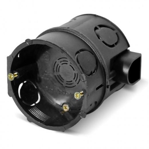 PlastElectro PE 000 003/ 04 Коробка установочная круглая, для бетона, комбинированная, высокая, для углубленного монтажа до 70 мм, IP20, D68x70