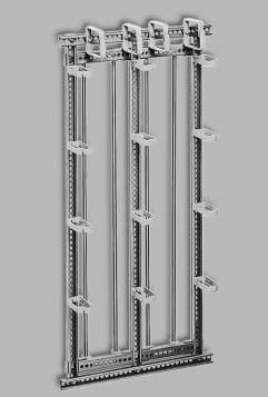 "ADC Krone Krone 6569 2 003-91 Каркас PROFIL, высотой 12U, для установки в 19"" шкаф на 320 пар<img style='position: relative;' src='/image/only_to_order_edit.gif' alt='На заказ' title='На заказ' />"