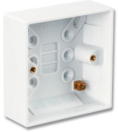 Коробка для настенного монтажа Siemon CTE2-BOX-02-SALE (расстояние между винтами 60 мм)