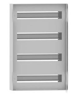 DKC / ДКС R5TM43 Панель для модульного оборудования, 400х300 (ВхШ), 20(2x10)модулей, для шкафов серий CE/ ST, IP20, цвет серый RAL 7035<img style='position: relative;' src='/image/only_to_order_edit.gif' alt='На заказ' title='На заказ' />