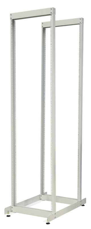 """ZPAS WZ-6171-01-45-011 Открытая стойка 19"""" (профили WZ-1718-XX-XX-000), серия SRK, 45U, высотой 2130 мм, шириной 515 мм и полезной глубиной 650 мм, двухрамная, цвет серый (RAL 7035) (SRK-245)"""