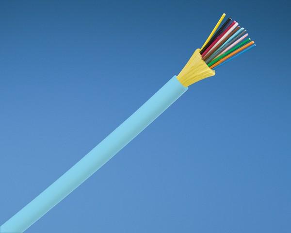 Belden PANDUIT FQDLZ04 Кабель волоконно-оптический 10Gig™ 50/ 125 (OM4) многомодовый, 4 волокна, внутренний, LSZH IEC 60332-1, 60332-3C, -20°C - +70°C, цвет аква