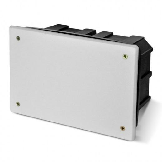 PlastElectro PE 000 034R Коробка разветвительная прямоугольная, для бетона, усиленная, с крышкой, IP20, 160х100х70