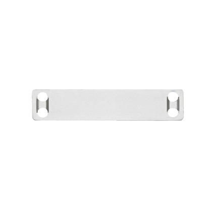 PANDUIT MMP350-M Маркировочная плата, нержавеющая сталь (304), 4 отверстия, 89x19x0.25мм. (1000 шт)