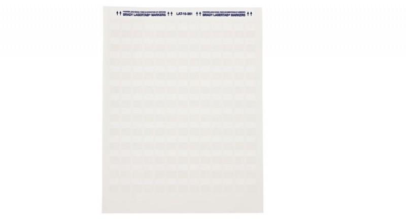 BRADY brd24570 (1 лист, 49 наклеек) Самоламинирующийся маркер 25.40мм x 33.78мм на кабель витая пара UTP, STP, cat 3-6 (диаметр до 6.7мм), LAT-18-361