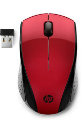 Mouse HP Wireless Mouse 220 (Sunset Red) cons