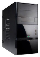 IN WIN  Mini Tower InWin ENR022 Black 400W RB-S400T70 2*USB+AirDuct+Audio mATX(6100468)