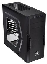 Корпус без БП Thermaltake Versa H22 [CA-1B3-00M1WN-00] ATX/ win/ black/ USB 3.0