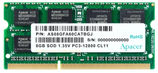 Apacer DDR3 8GB 1600MHz SO-DIMM (PC3-12800) CL11 1.5V(Retail) 512*8 (AS08GFA60CATBGC/ DS.08G2K.KAM)