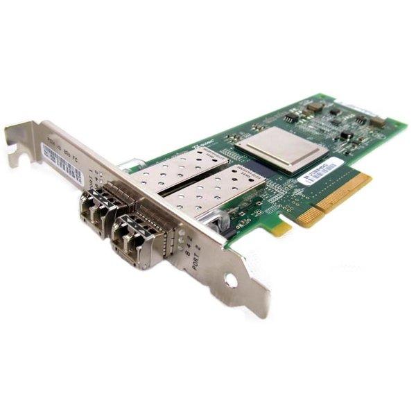 Адаптер сетевой HUAWEI DualPort 8GbFC HBA Card, PCIE 2.0 X4 Qlogic QLE2562, 2хLC connectors, incl. h/ h & f/ h. Brckts