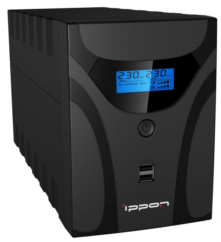 ИБП Ippon Smart Power Pro II 1600 960Вт 1600ВА черный