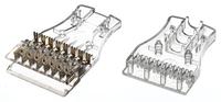 Hyperline 110C-M-4P 4-х парный 110 модуль, категория 5e